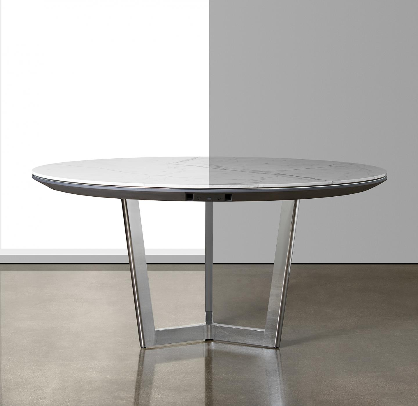 Halo tables are available in any shape and size to perfectly fit your space.