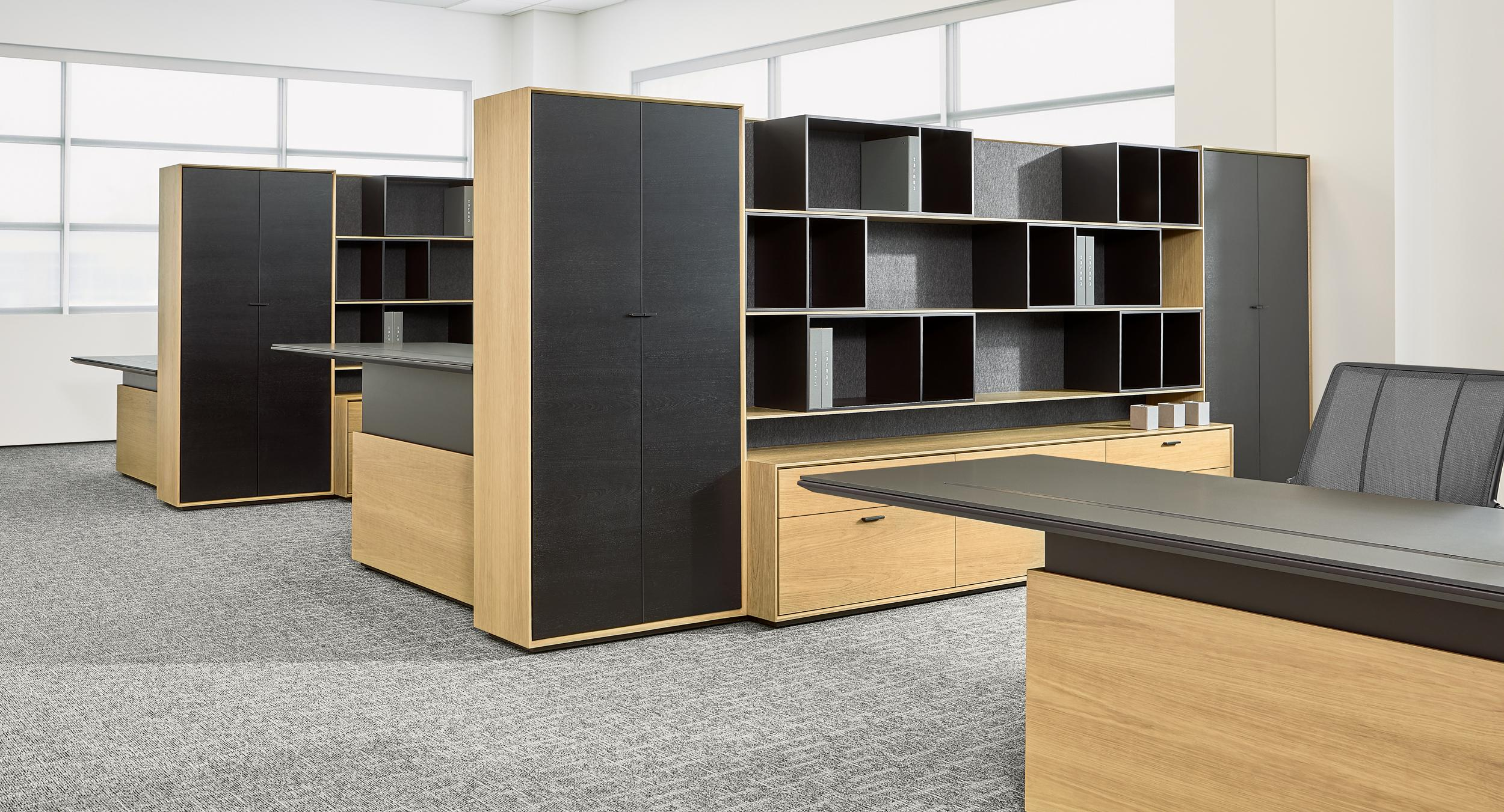 HALO Office is a total office solution for private office and open plan.