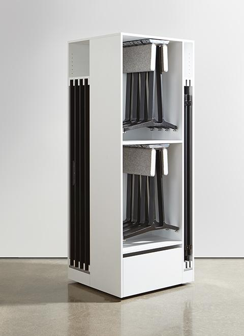 SkillSet storage solutions are thoughtfully designed for  maximum storage density and ease of use.