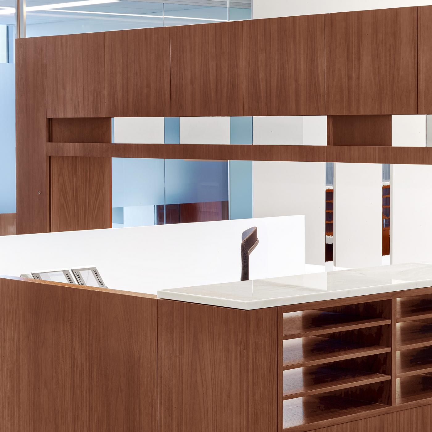 Custom workstations elevate your space and perfectly complement HALCON private office furniture.
