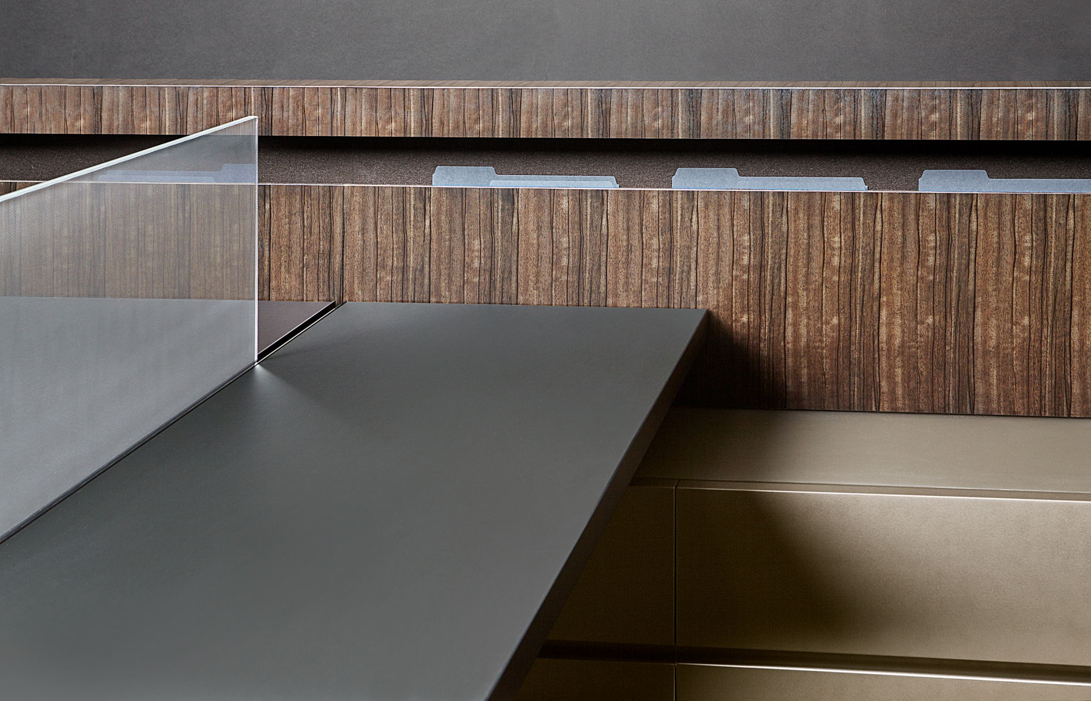 Foundry showcases a harmonious use of materials, surfaces, and textures.