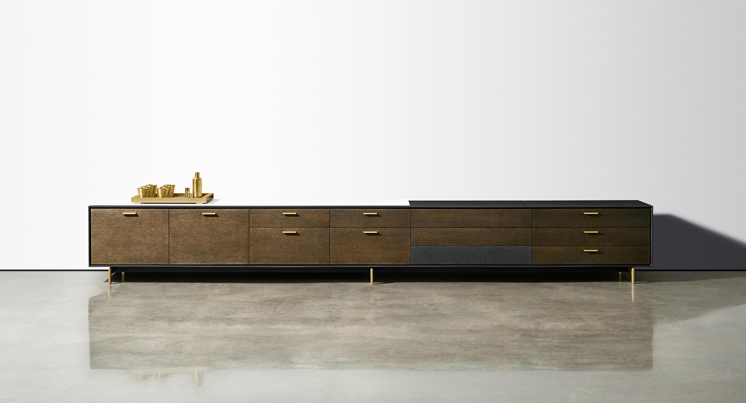 Halo offers a complete array of modern storage and sideboard solutions.