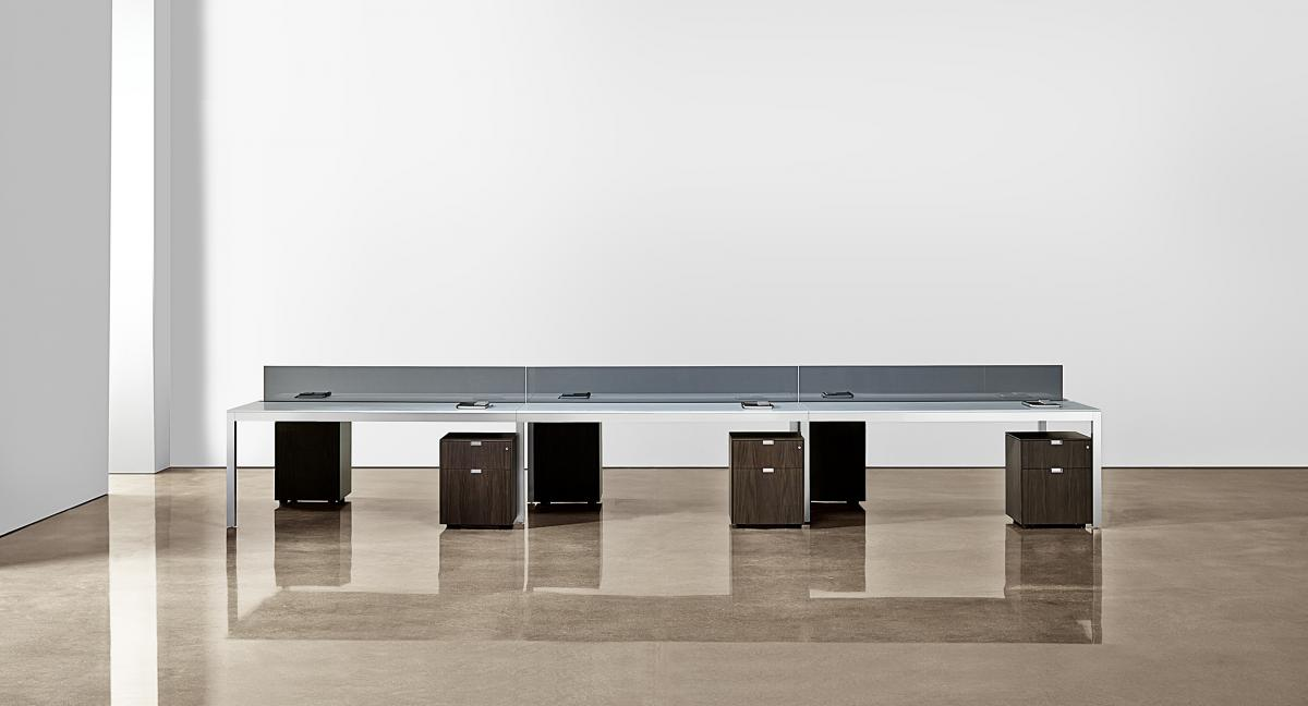 With mobile pedestals and freestanding elements, LEX space is more productive, flexible and dynamic.