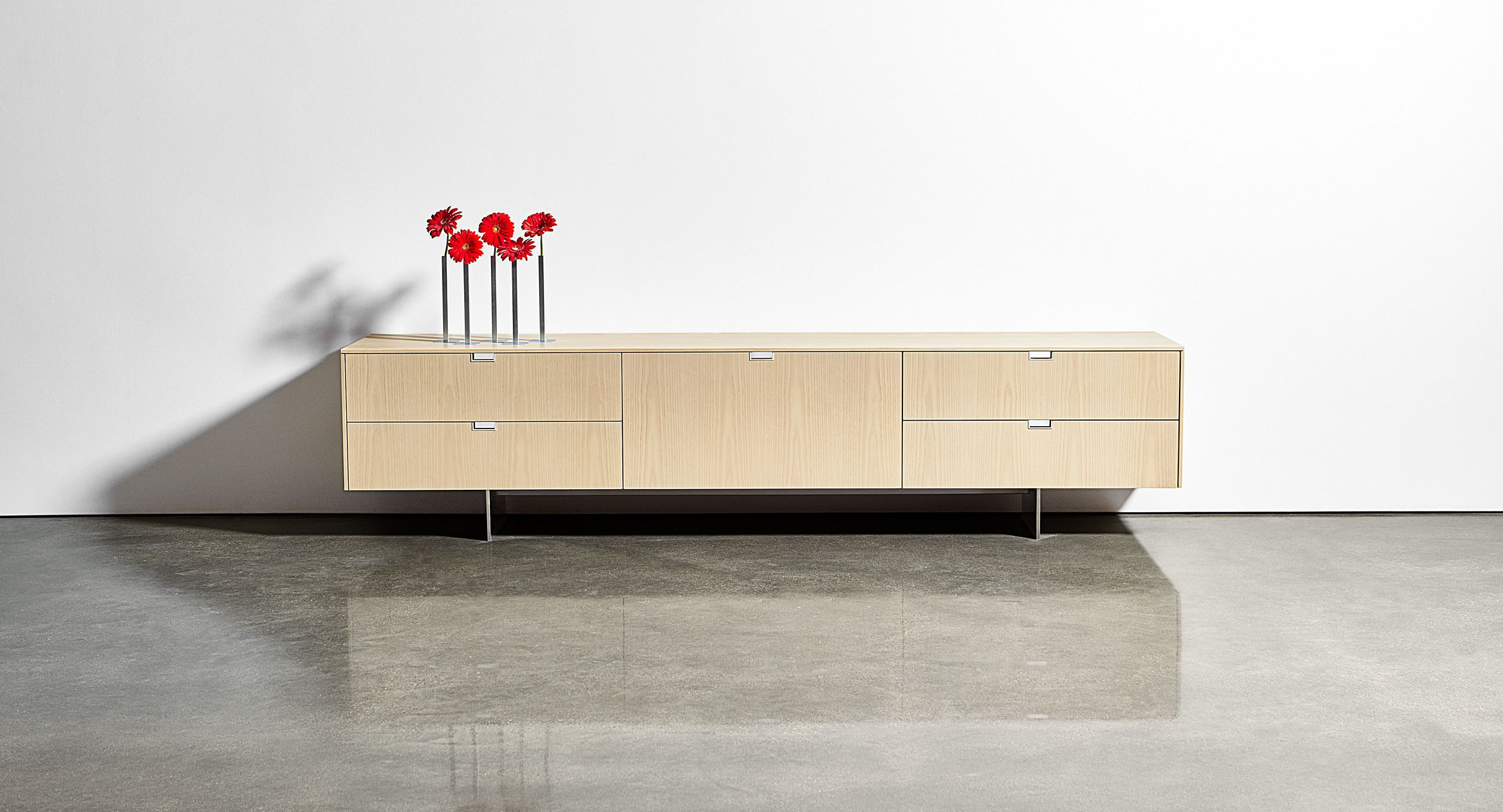 The Lex Signature Credenza is a beautifully-proportioned storage solution.