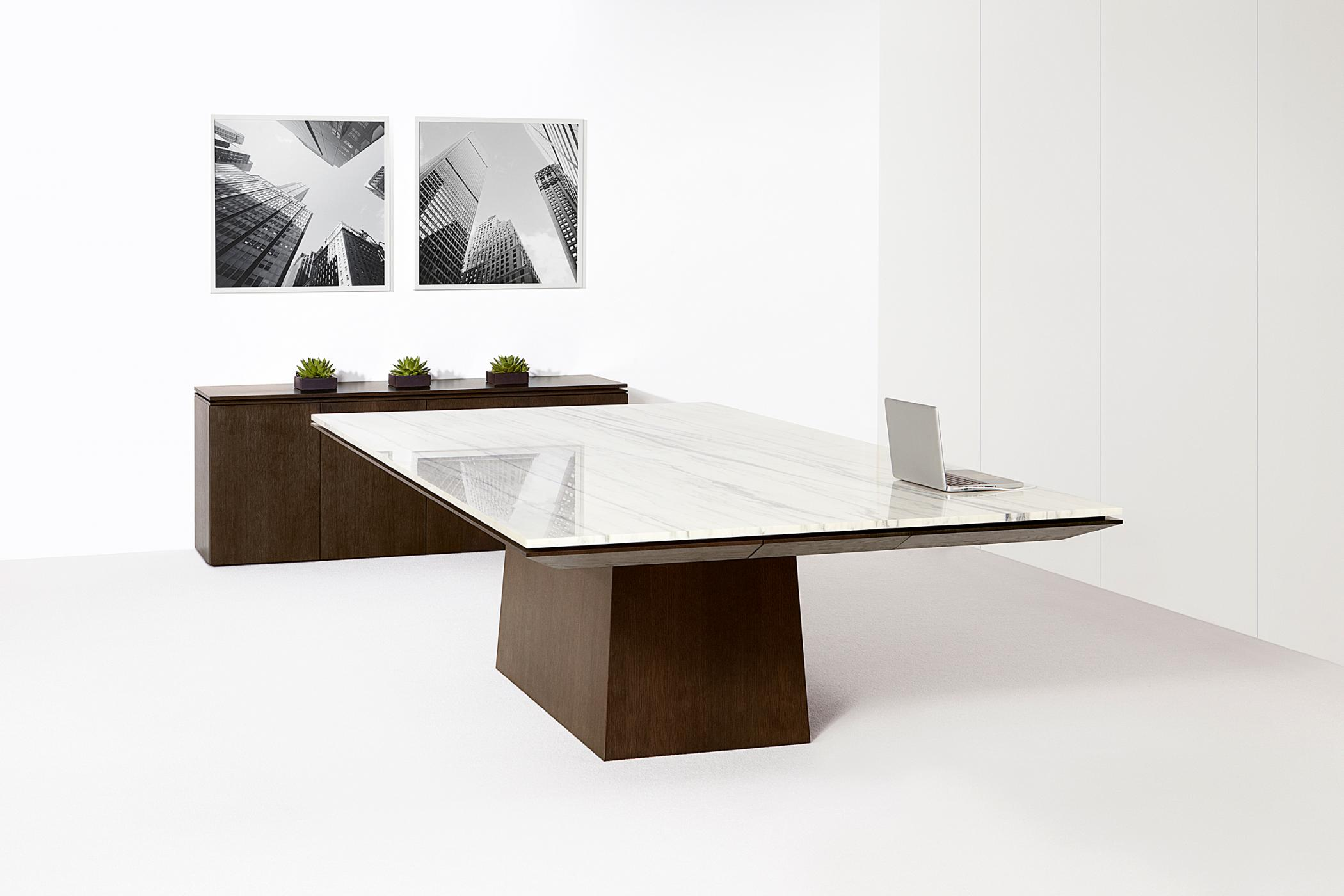 Mesa's design allows surface materials to display cleanly and beautifully.