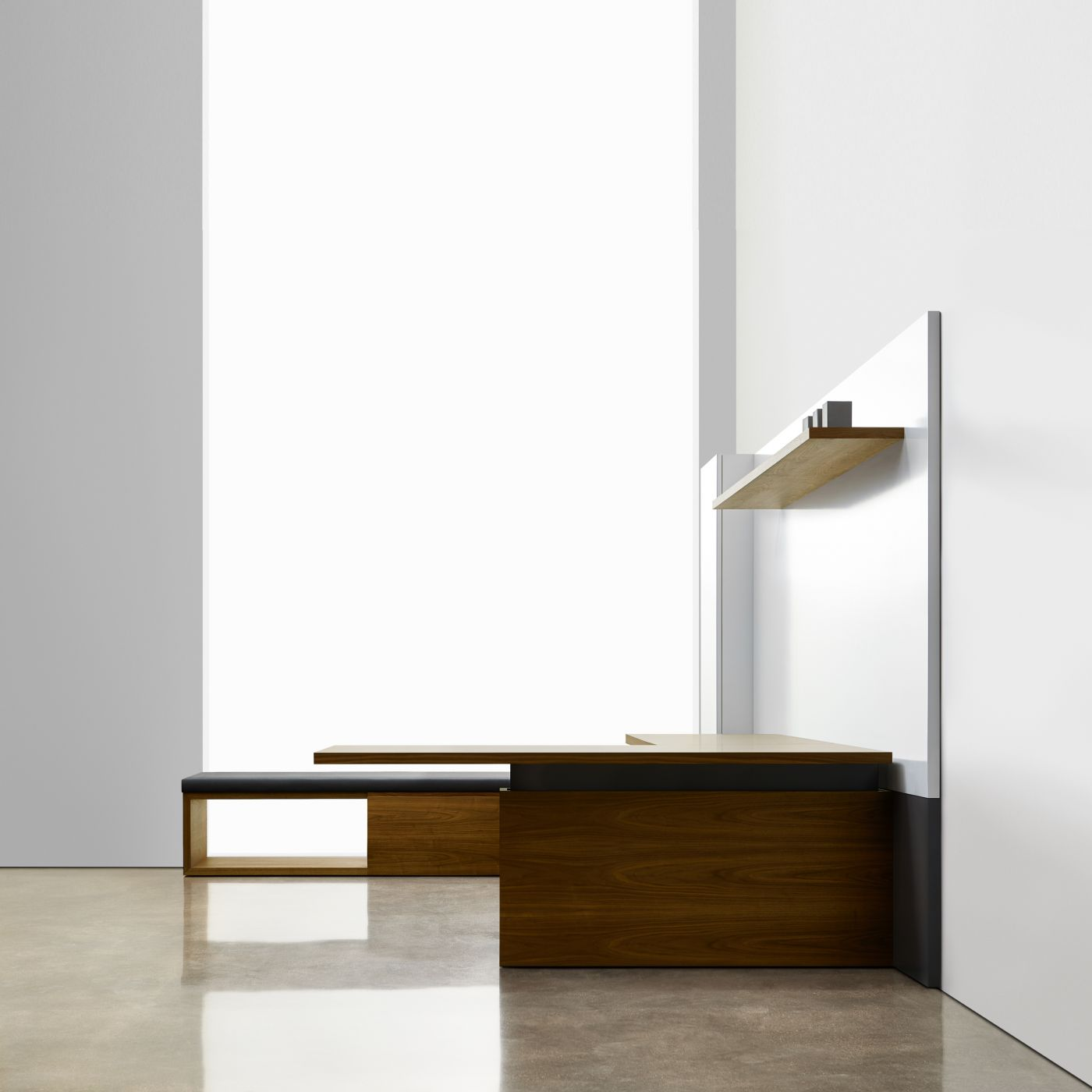 Minimalist lines expressed in a timeless design.
