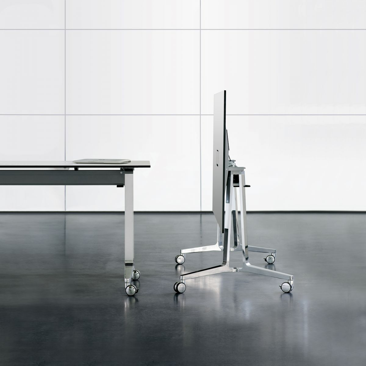 Mobile tables that are more graceful, more durable, and more beautiful than ever before.