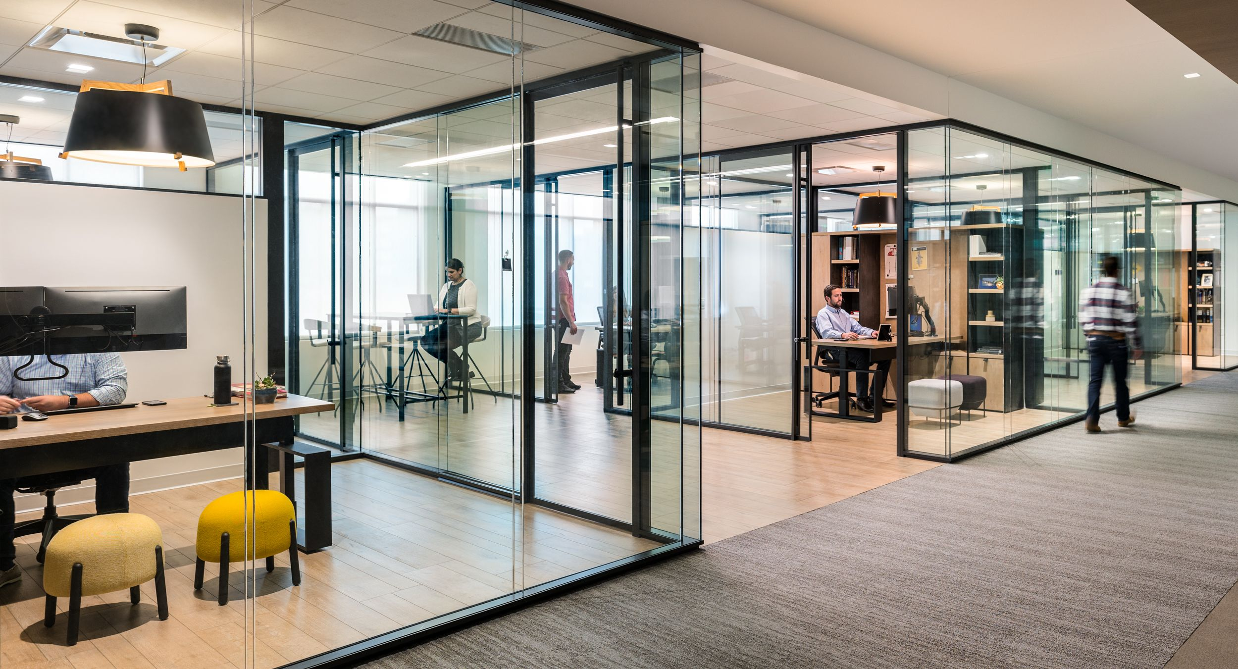 HALCON provided a custom solution to perfectly execute BPX's workplace vision.