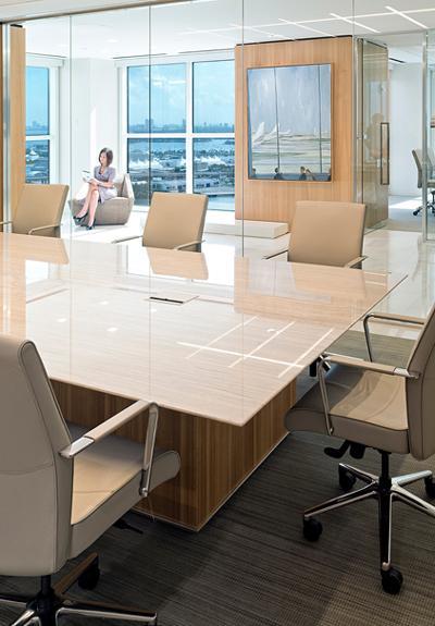 Law Firm Miami HALCON Furniture - Conference table miami