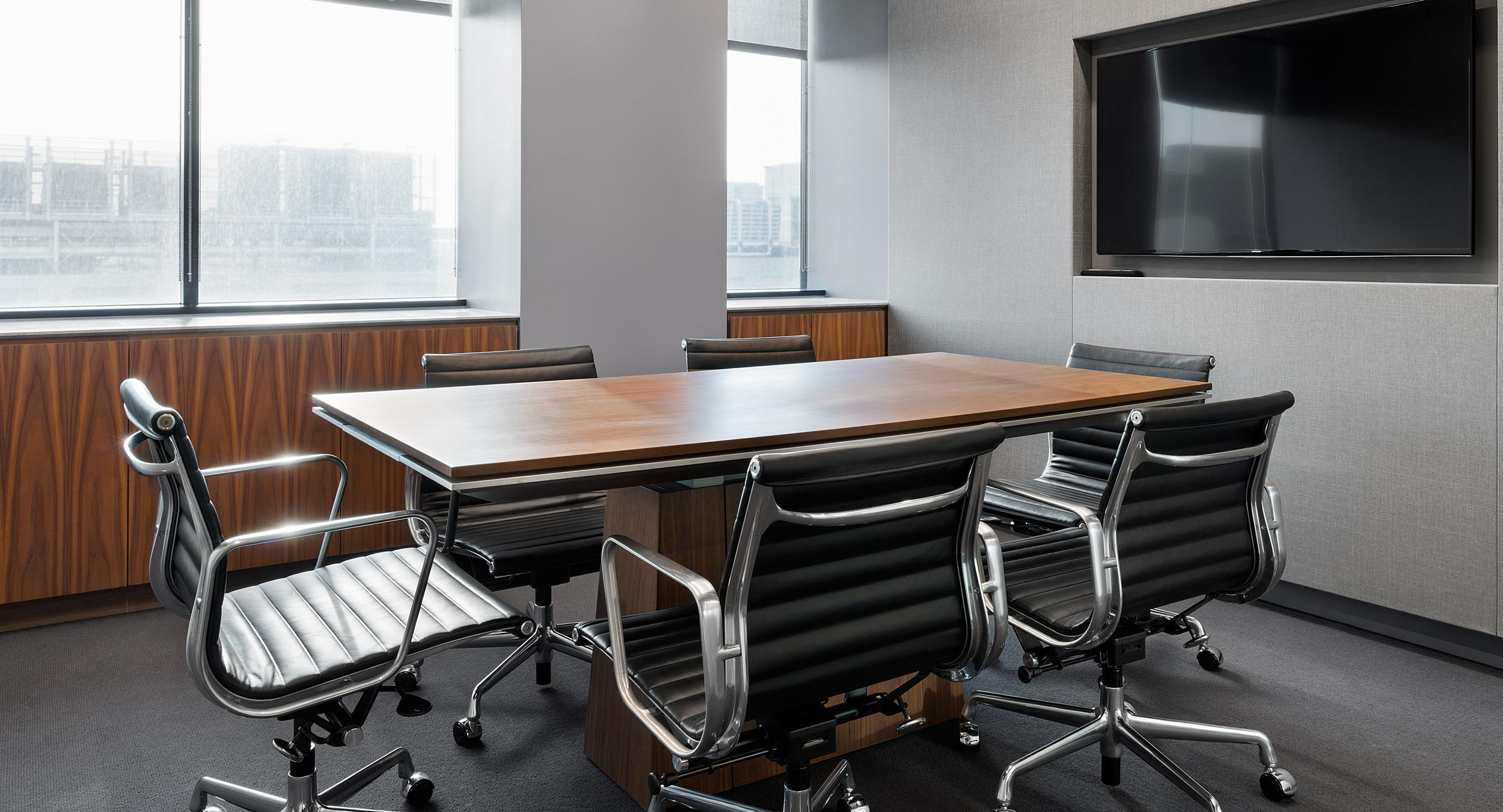MESA tables were provided in sizes to fit a range of meeting spaces.