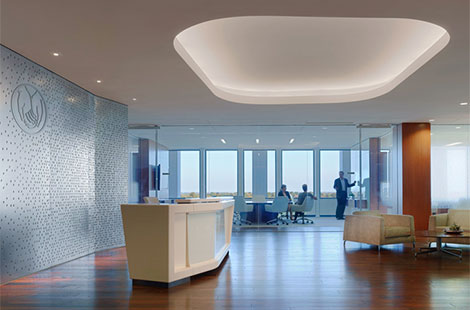 Halcon allstate insurance headquarters for Office design northbrook il